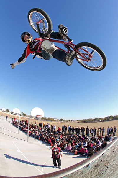 anti bullying programs By Perfection on Wheels BMX Stunt Team